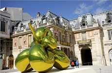 Palace Pop Art - Jeff Koons Versailles Exhibit