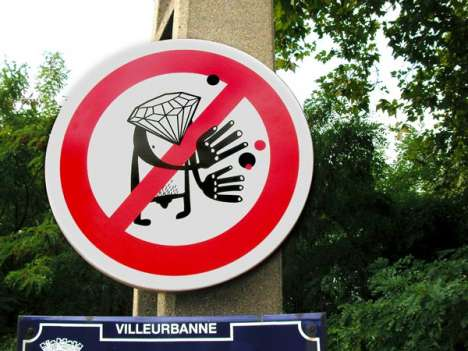 Fake Street Signs as Public Art