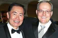 17 Ways Homosexuality Has Been Celebritized + George Takei's Gay Wedding