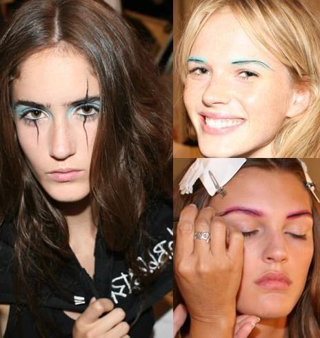 Vibrant Eyebrow Colors