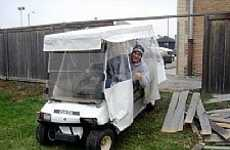Schadenfreude on the Green - 9 Golf Cart Crashes