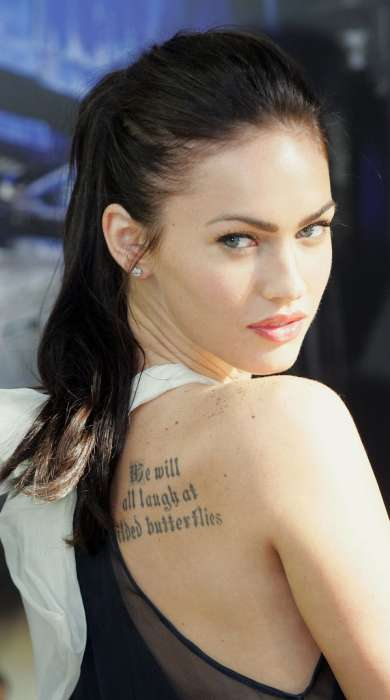 Mobile: 56 Shocking Tattoos - From Megan Fox Sidettoos to Tattooed Eyes