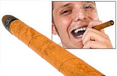 Smoke-Free Smoking - Electronic Fake Cigars Add Nicotine, Subtract Smoke