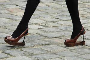 Fashion Week's Promenade of Stilettos