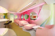 Pink Retro Restaurants