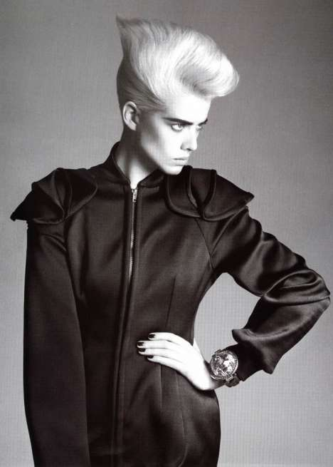 80s Rocker-Chic Couture