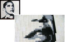 LEGO Politician Portraits
