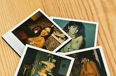 Polaroid Coasters - Retro Woman Photos For Your Drinks