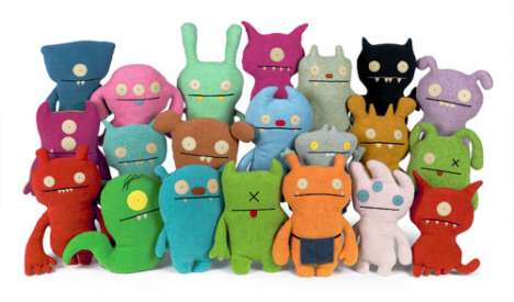 Pretty Ugly Plush Toys