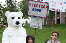 Anti-Palin Alaskan Protests - Pun-Laden Political Slogans