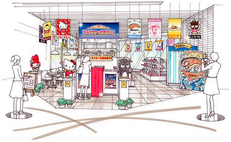 Anime Character Cafes - The Sanrio Character Ranking Awards Cafe Celebrates the Best Cartoons