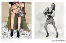 Multiple Photographer Fashion Ads - The Louis Vuitton Fall 2014 Series 1 Campaign is Stylishly Artsy