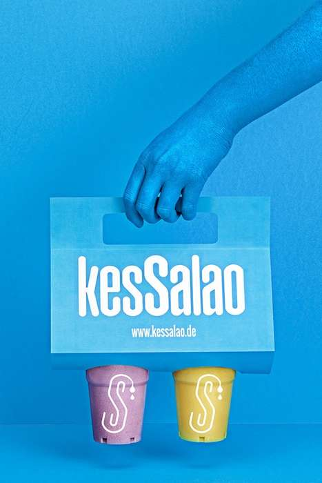 Vibrant Takeaway Packaging - Kessalao