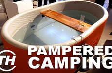 Pampered Camping Products - Trend Hunter's Jaime Neely Gives Her Top 4 Glamorous Camping Picks