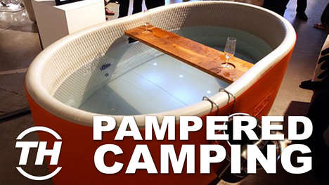 Pampered Camping Products - Trend Hunter