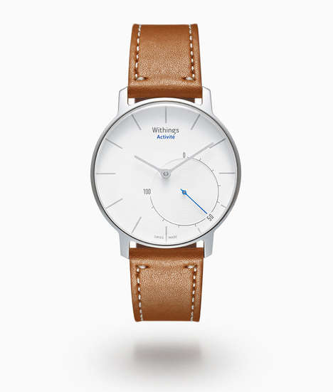 Disguised Hi-Tech Watches - Withings Activite is a Good-Looking Design with Fitness Tracking Options