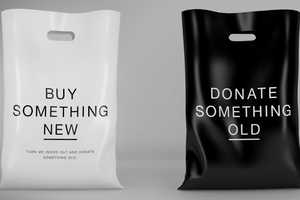 The Eco-Freindly Rag Bag Gives Customers the Chance to Donate Old Clothes