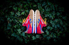 Vibrant Suede Sneakers - The Snipes x Reebok Collaboration Reworks a Classic