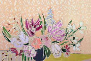 This Floral Paintings Series is Happiness-Inducing