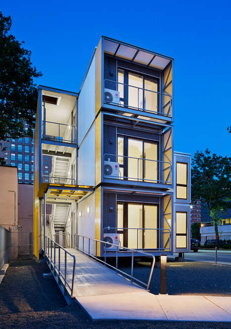 Post-Disaster Housing - Garrison Architects's Housing Prototype is Efficient and Smart