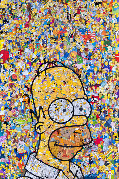 Vivid Pop Culture Collages - Mr Garcin