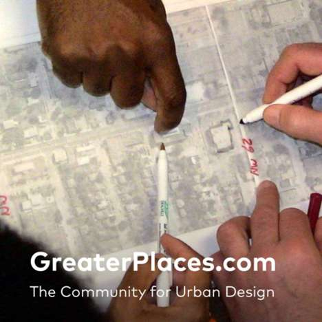 Community Design Websites - GreaterPlaces is a Place to Discover Social Solutions for City Living