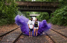 Colorfully Clouded Lookbooks