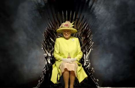 Royal Fan Fantasy Shows - The Queen Visited 'Game of Throne' Set in Belfast