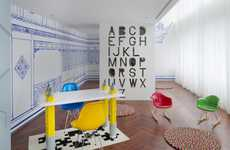 Vibrantly Whimsical Interiors