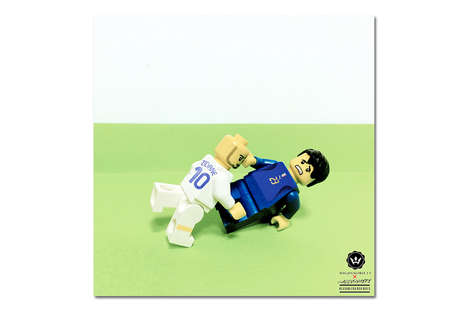 Historical Soccer LEGOs - This World Cup LEGO Series Recreates Famous Moments