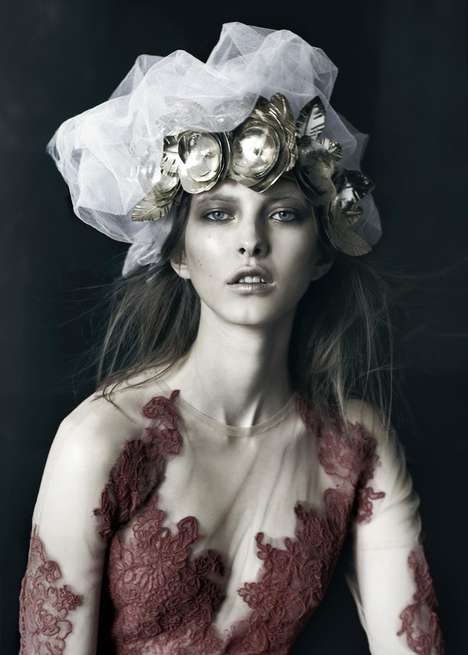 Fantastical Regal Editorials - The Schon Magazine
