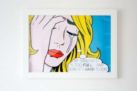 Privileged Pop Art Illustrations - Aled Lewis Creates Art Works That Mock First World Problems