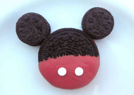 Cartoon Mouse Cookies - These DIY Mickey Mouse Oreos Are a Simple and Super Sweet Disney Snack