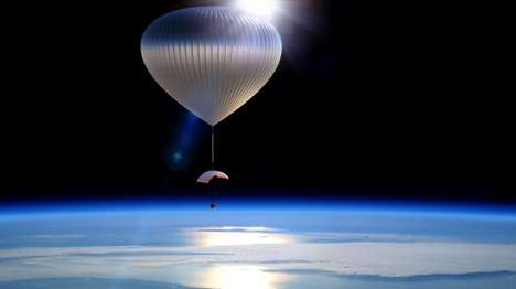 Space Tourism Balloons - World View Enterprises' Balloons Will Take People to the Stratosphere