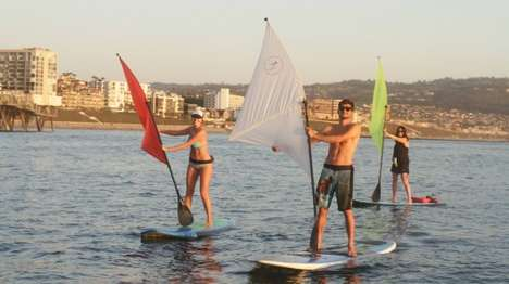 Trailblazing Sport Paddleboards - The
