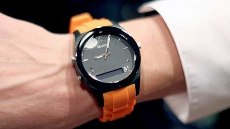 Proactively Notifying Smartwatches - The Martian Notifier Smartwatch Looks Like a Regular Watch