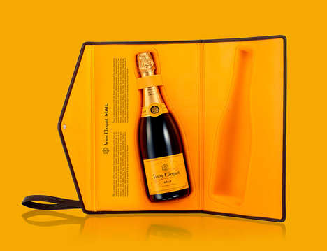 Champagne-Carrying Clutches - The Clicquot Clutch Exudes Luxury