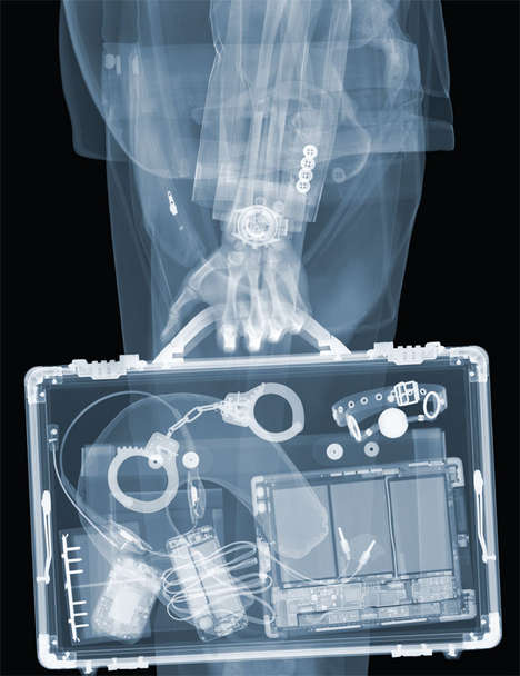 Voyeuristic X-Ray Portraits - Nick Veasey Reveals Secrets in His Series Entitled X-Ray Voyeurism