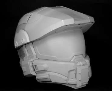 Gaming Hero Headgear - Protect Your Noggin with the Master Chief Motorcycle Helmet