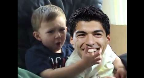 World Cup Biting Spoofs - This Parody Mixes the World Cup Luis Suarez Bite with Charlie Bit Me