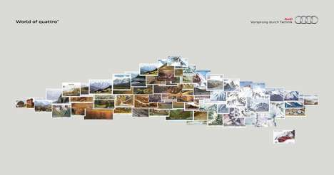 Scenic Collage Auto Ads - Audi