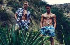 Tropical Traveller Editorials - August Man's Spring of Life Image Series Highlights Botanical Prints