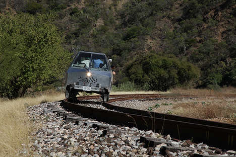 Railroad-Exploring Vehicles - The SEFT-1 Travelled Along Abandoned Railways in Mexico and Ecuador