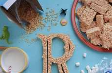 Tommy Perez Teaches His Daughter the Alphabet Through Edible Type