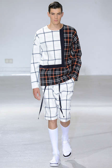 Luxe Plaid Streetwear - The 3.1 Phillip Lim Spring/Summer 2015 Collection is