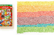 Obsessively Organized Foods - Blogger Austin Radcliffe Visually Depicts Neatly Stacked Foods
