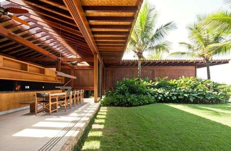 Lushly Tropical Havens - This Contemporary Holiday Home is the Perfect Place to Relax Amidst Nature