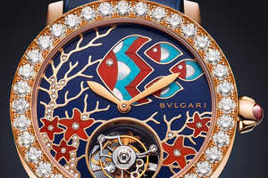Bulgari's Il Giardino Marino Timepiece Takes Inspiration from the Sea
