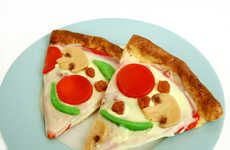 Pepperoni Pizza Soaps - This Sudsy Soap is Designed to Look Like a Piece of Delicious Pizza