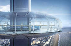 Aerodynamic Pod Towers - The i360 by Marks Barfield Architects Looks Futuristic